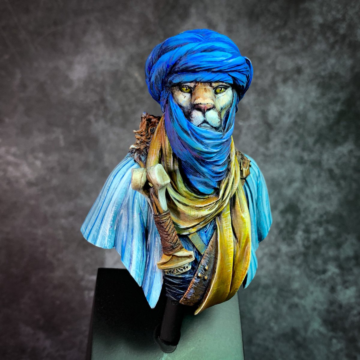 Abdel Rashid from Black Sun Miniatures I painted this guy