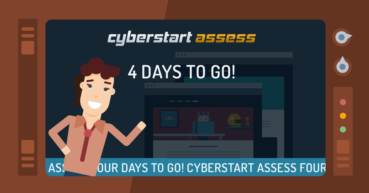 Have you registered for Cyber Discovery but not yet started playing CyberStart Assess? What are you waiting for?! 😱 You've got 4 days left to crack as many challenges as you can to reach the next stage! ⏳ Go, go, go! https://cyberdisc.io/sign-in