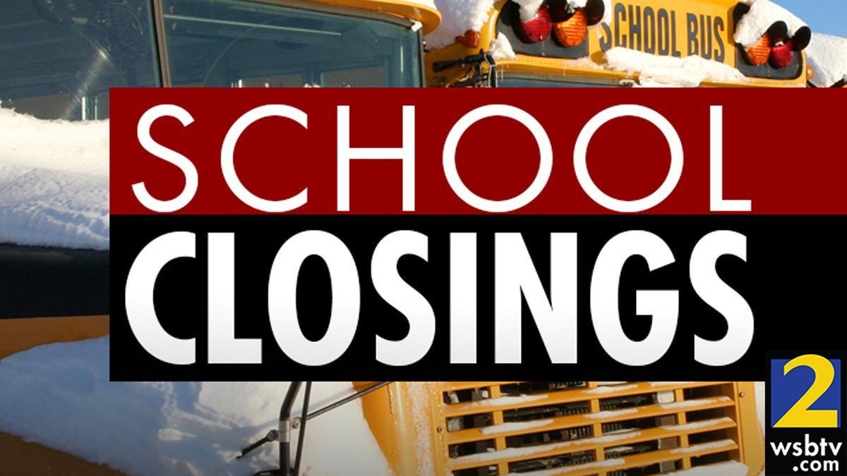 Breaking: fulton county schools closed tuesday due to