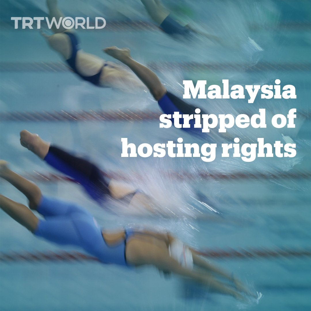 Malaysia has been stripped of the right to host the 2019 World Para Swimming Championships over its stance on Israel
