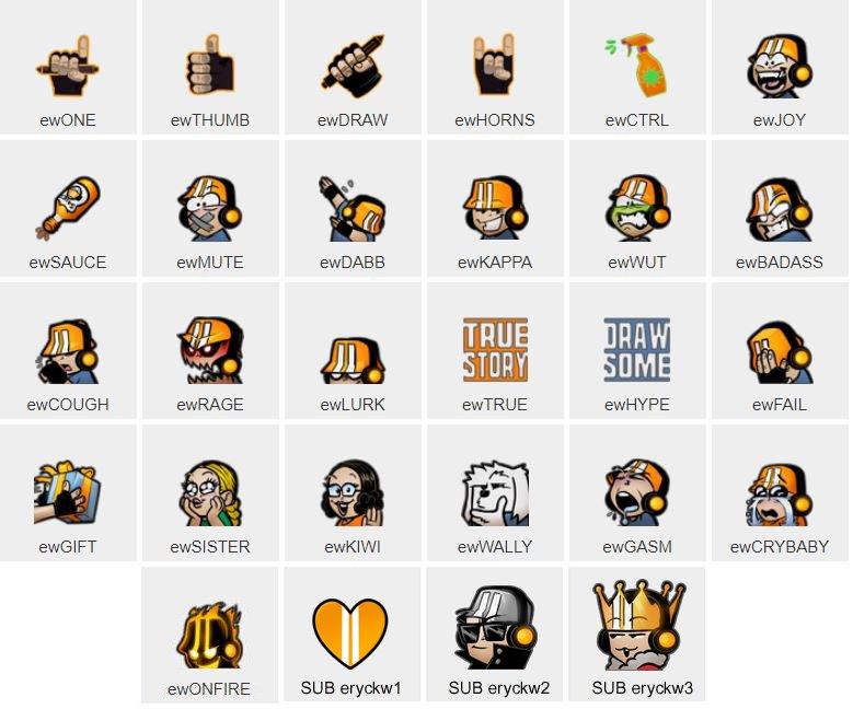 Ammco bus : Bttv emoji list