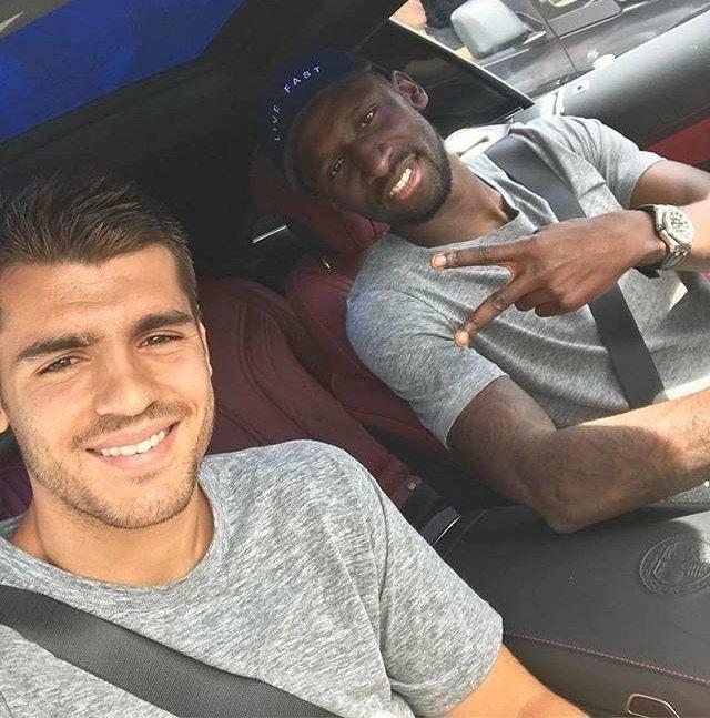 Wishing you best of luck in Madrid Bro ✌🏾⚽ #Hustle #AlwaysBelieve @AlvaroMorata