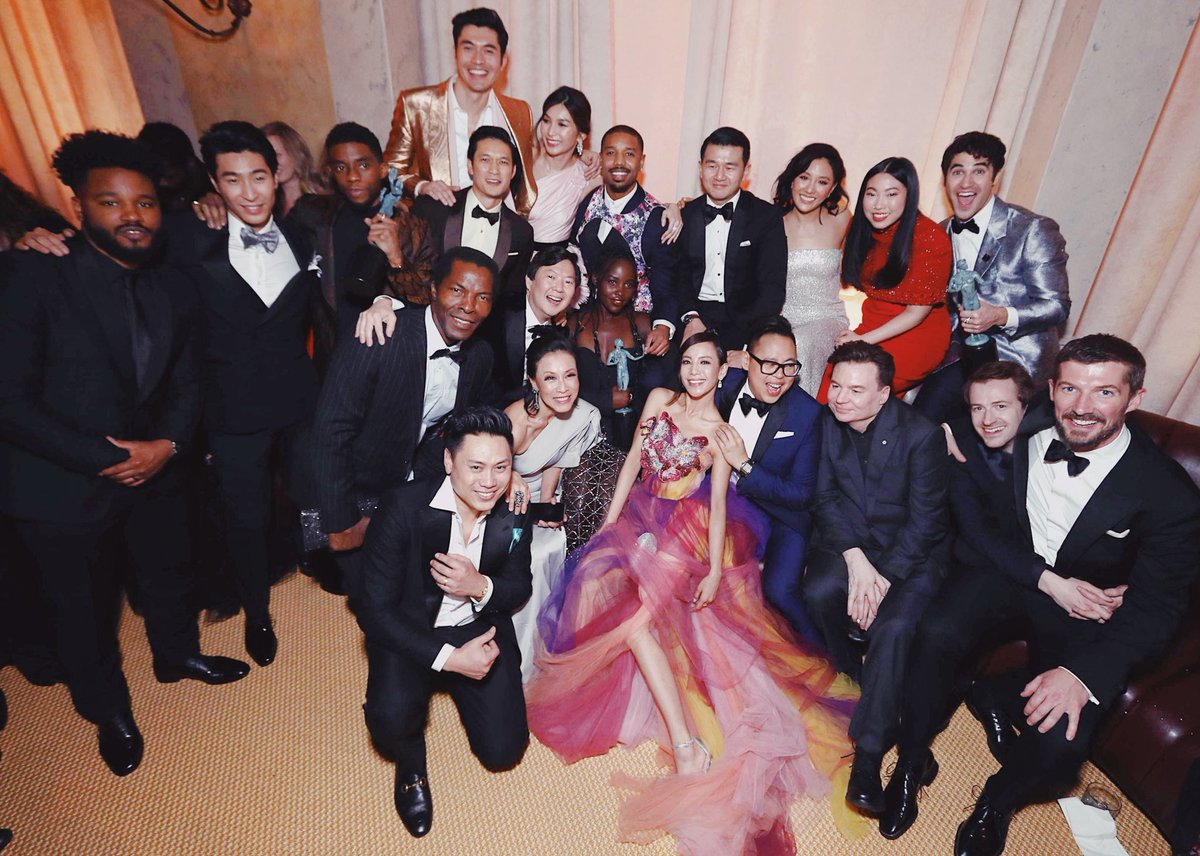Black Panther + Crazy Rich Asians + Bohemian Rhapsody + Versace in ONE EPIC PHOTO
