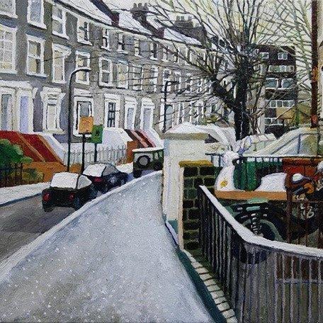 Marta Szabo On Twitter Heatherlj Another Hackney Painter Https