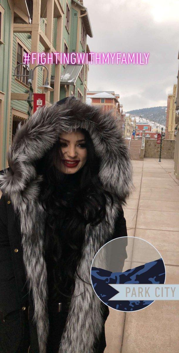 Don't miss @RealPaigeWWE taking over @WWE's Snapchat at #Sundance for @FightingWMyFam! @sundancefest