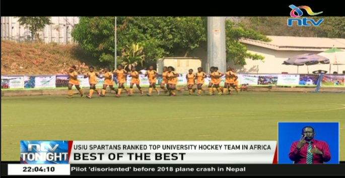 Best of the best: USIU spartans ranked top university hockey team in Africa. #NTVSports