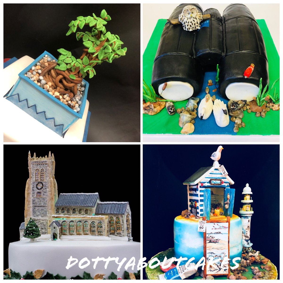 So here's Dottys first ever tweet.... Introducing my new #cake and #cookie business based near #Cromer #Norfolk.....If you're as #DottyAboutCakes as I am ...Please follow me on my journey as a #cakeartist...A few examples of my #cakedesigns below😊🎂http://bit.ly/2CXFsnz