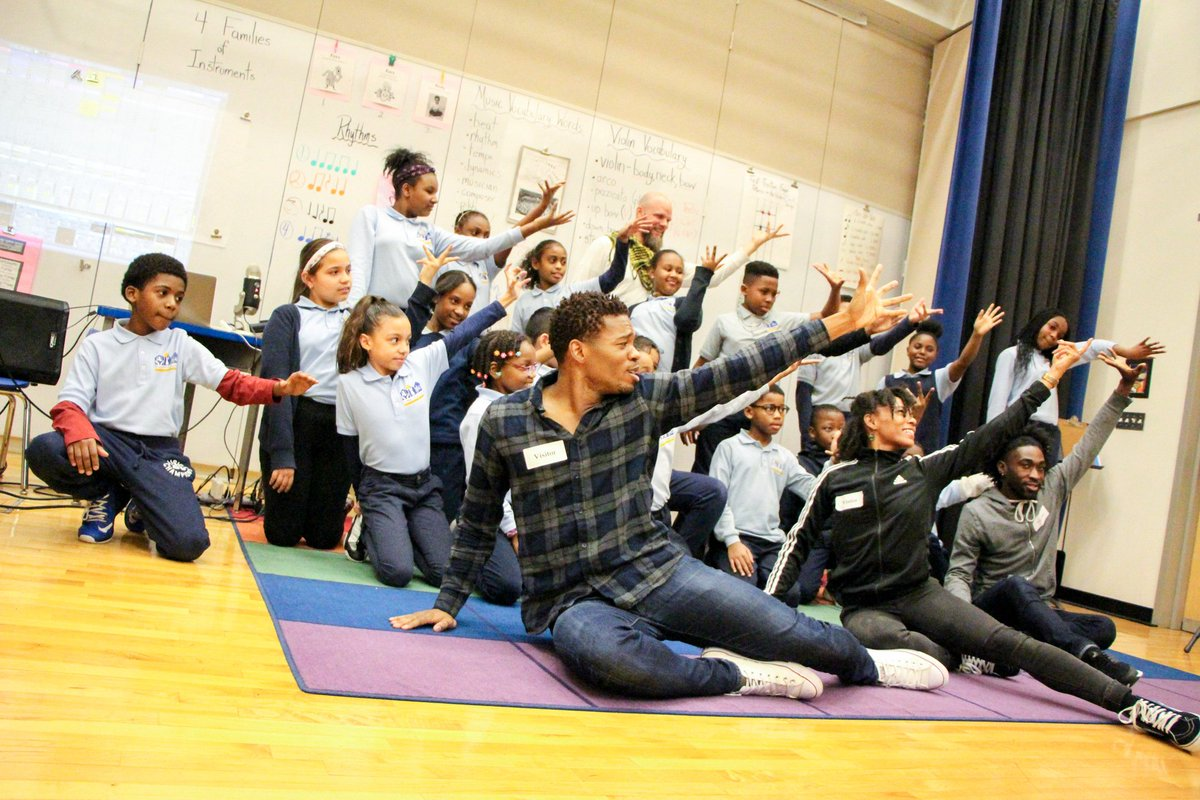 Check out one of the awesome pieces improvised during the @AlvinAiley / Ryan Edwards visit to @BRCPS!  Alvin Ailey Dancers Improvise to Music Created Live by Ryan Edwards & BR... https://youtu.be/g5UyyziDEdo @celebrityseries
