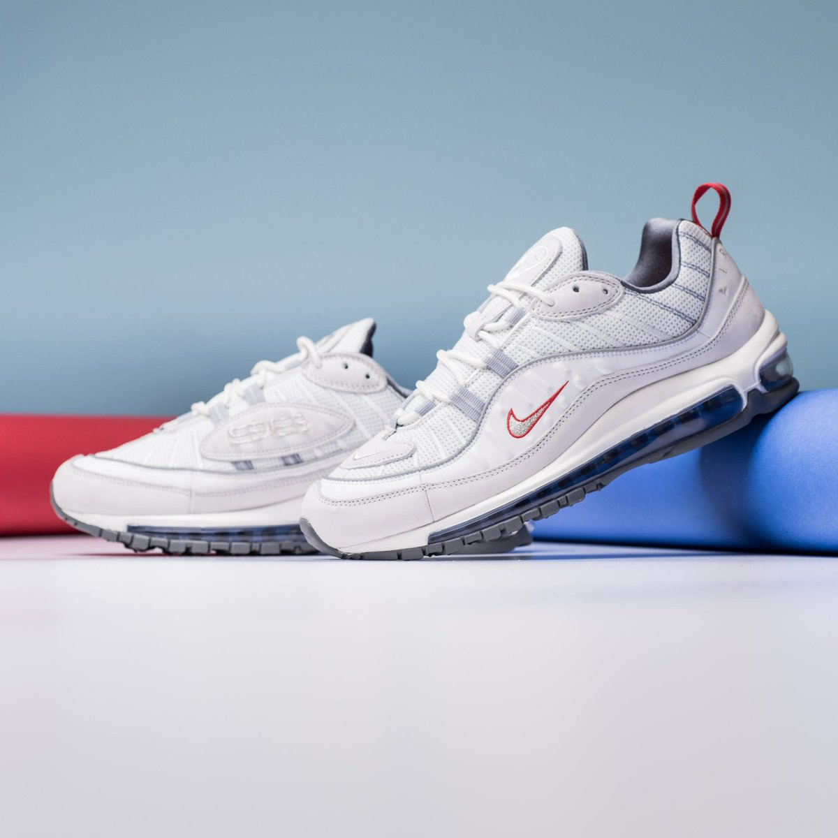 Now Available    Nike Air Max 98 - Summit White Metallic Silver     https   sneakerpolitics.com products nike-air-max-98-summit-white-metallic- silver … ... 720bb99e0