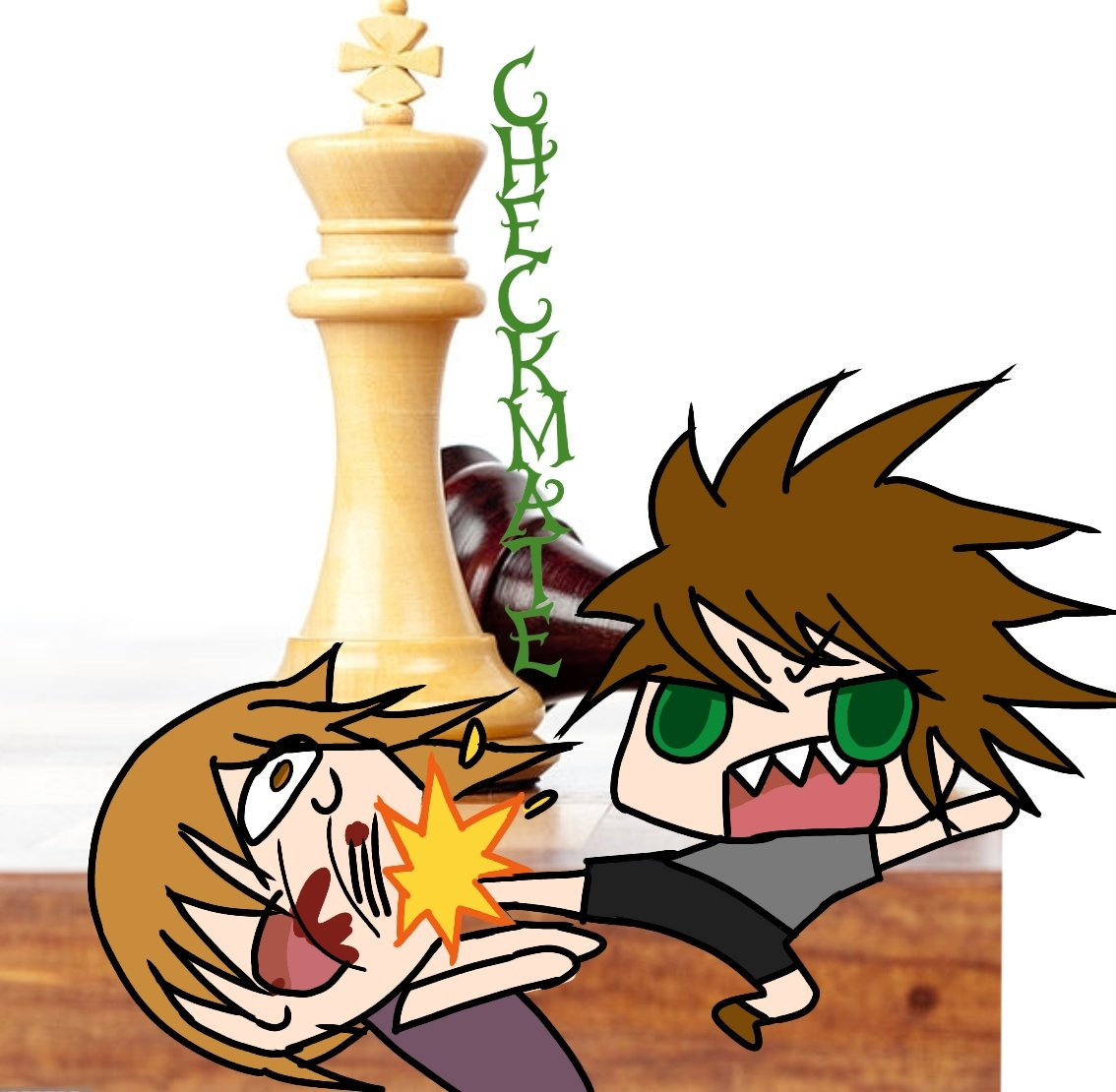 "Haseo's Animation (under remodeling) on Twitter: ""@theodd1sout can we do an  MMA chess match instead of chess boxing? and use life sized pieces too XD  #theodd1sout… """