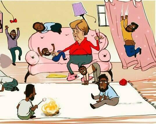 Смешные рисунки про германию, картинки анимашки