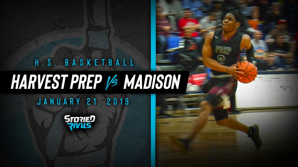 NEW HIGHLIGHT!! Harvest Prep took Flyin' To The Hoop by storm with a 23-point win. @cjanthony25 (32 points) shined and at one point had more points than the entire Madison team. @B_Beavers24 with 16. Highlights here --> https://www.youtube.com/watch?v=1ukPdrpZXrM…