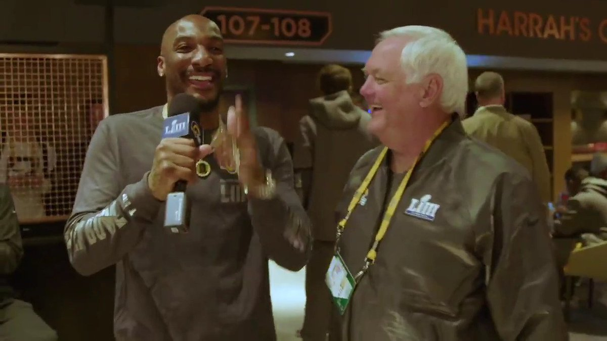When did @sonofbum figure out this whole DC thing?   Since his demo 💯  @AqibTalib21 | #SBOpeningNight | #SBLIII