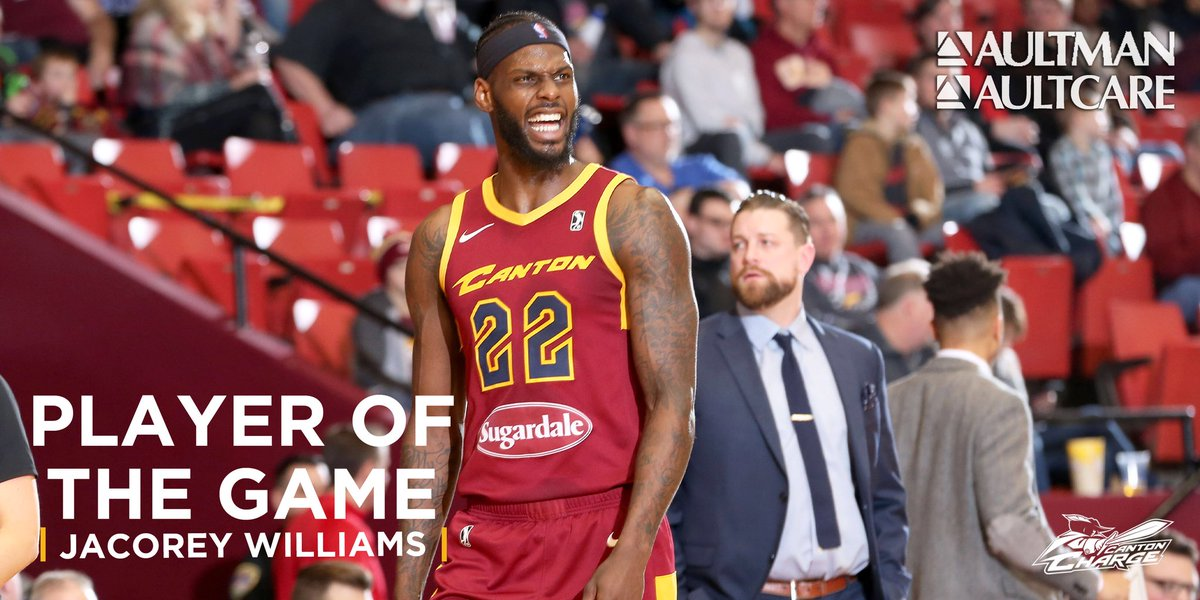 .@_JWilliams22 had himself a weekend 👏   Back-to-back Aultman/Aultcare Player of the Game. Williams posted a team-high 22 points on Saturday night.