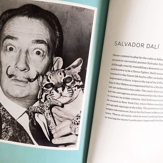 """It's no secret several of us at TBD Media are #catpeople. It's nice to know we share company with some creative geniuses.⠀ -⠀ [scene from the book - """"Artists and Their Cats"""" by Alison Natasi]⠀ -⠀ #dali #artistsandtheircats #books #catlovers  http:// bit.ly/2SajBRo    <br>http://pic.twitter.com/lQvmeMTCw0"""