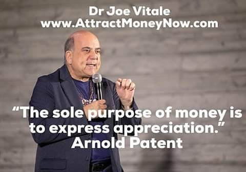 You'll start attracting big money as soon as you realize it's a neutral force to help fulfill your dreams and mission. #joevitale #thesecret #attractmoney #lawofattraction #happiness #arnoldpatent #appreciationquotes #attitude #TheSecret #thesecret …  http:// bit.ly/2TioDZi     <br>http://pic.twitter.com/uDMTOPPAeR