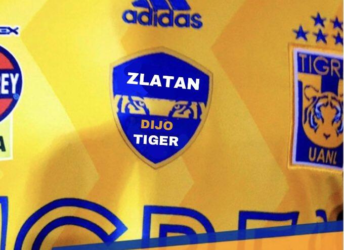 Ojo aquí @TigresOficial  Zlatan se hace tigre fácil. Otro parche @absalon78