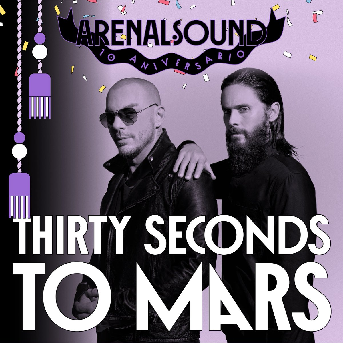 You've been waiting and it's finally here! SPAIN - MARS is coming! Upgrades and VIP/Ticket bundles are available now at http://thirtysecondstomars.com/tour