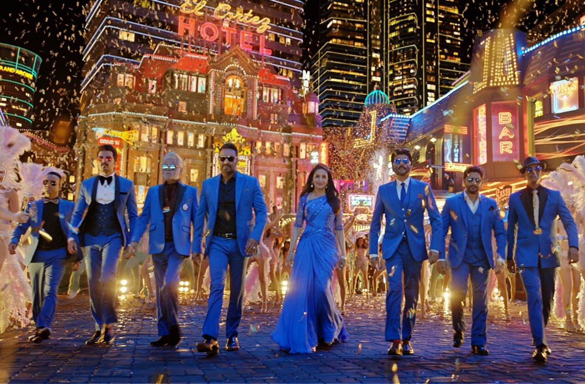 The #TotalDhamaal gang is sure to win your hearts with #PaisaYehPaisa! Out today at 2PM. @ADFFilms @foxstarhindi @saregamaglobal