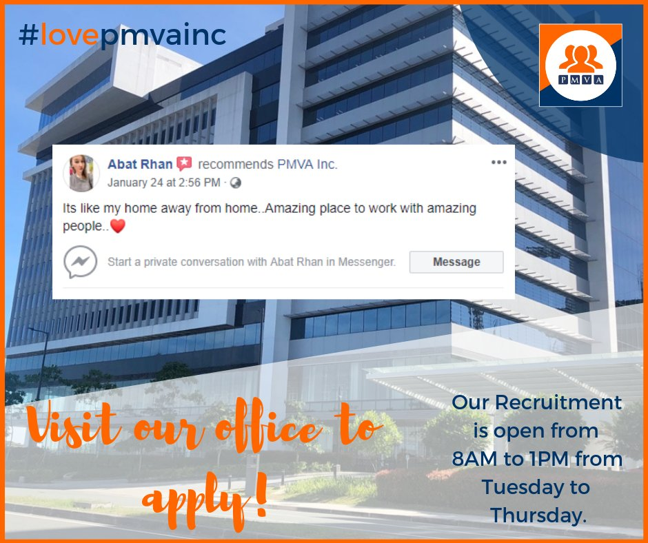 Apply Now And Be Part Of Our Awesome Team
