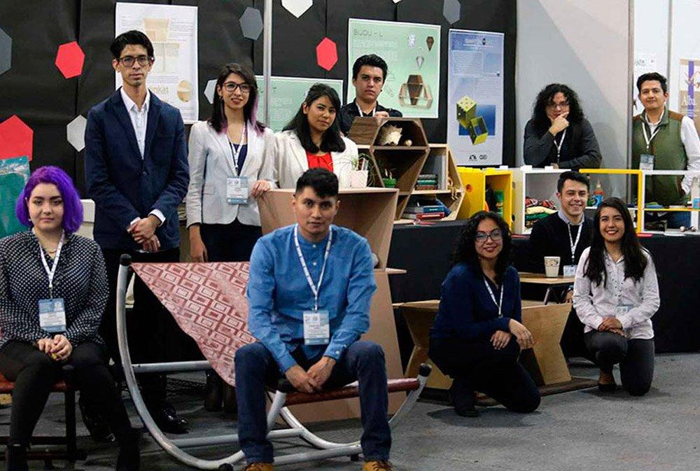 Exponen alumnos de la @UAM_Comunidad en el mayor encuentro de proveedores de muebles en México https://bit.ly/2Wrxf1N #YoLeoCampus