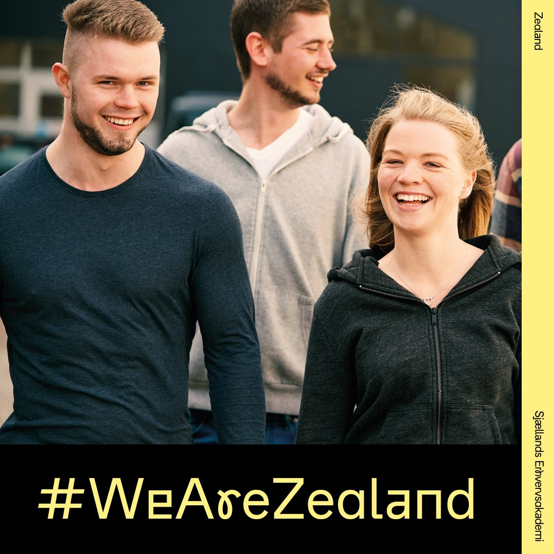 Del dit studieliv på Instagram! Vi har skiftet navn til Zealand, og derfor har vi også fået nyt hashtag. Del din hverdag på studiet under #WeAreZealand