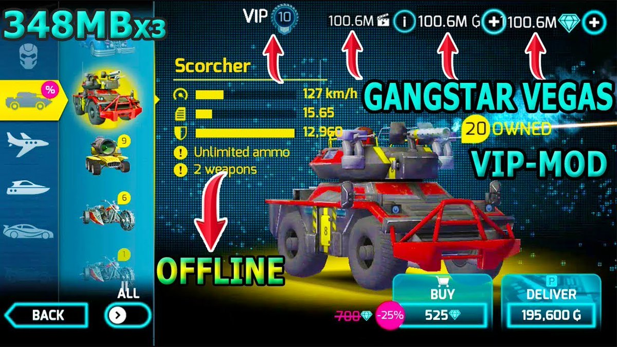Gangstar Vegas Hack Mod APK Android