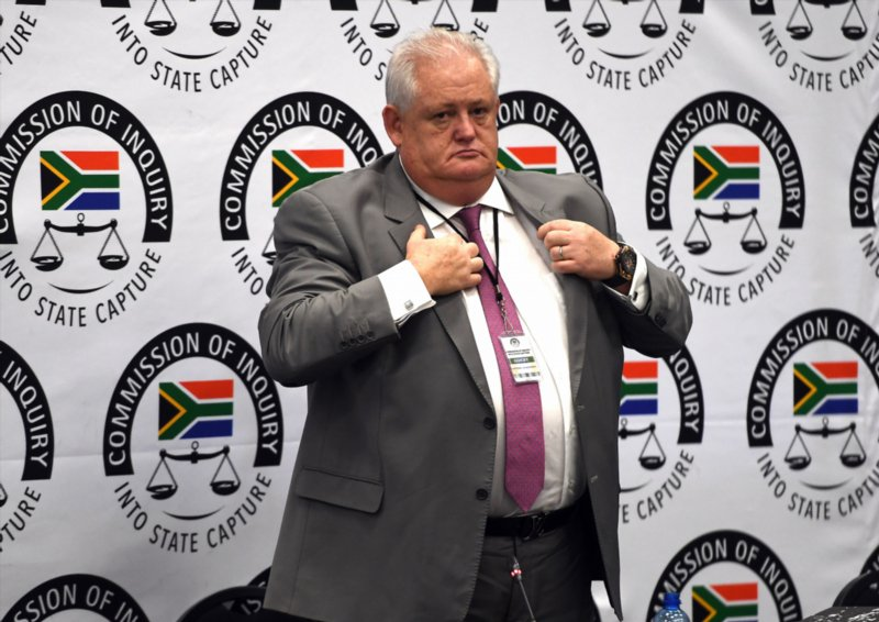 LIVE: 'I am a racist. Judge me on that.'- Agrizzi at #StateCaptureInquiry   https://t.co/1cOB3WpGQQ