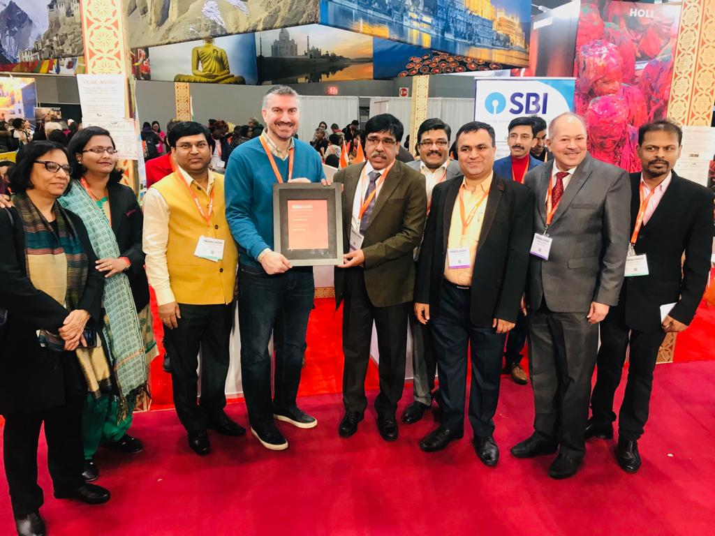 India bags the Award of Excellence for 'Best in Show' at #NYTTravelShow 2019. Details here: https://bit.ly/2HEcHQ3