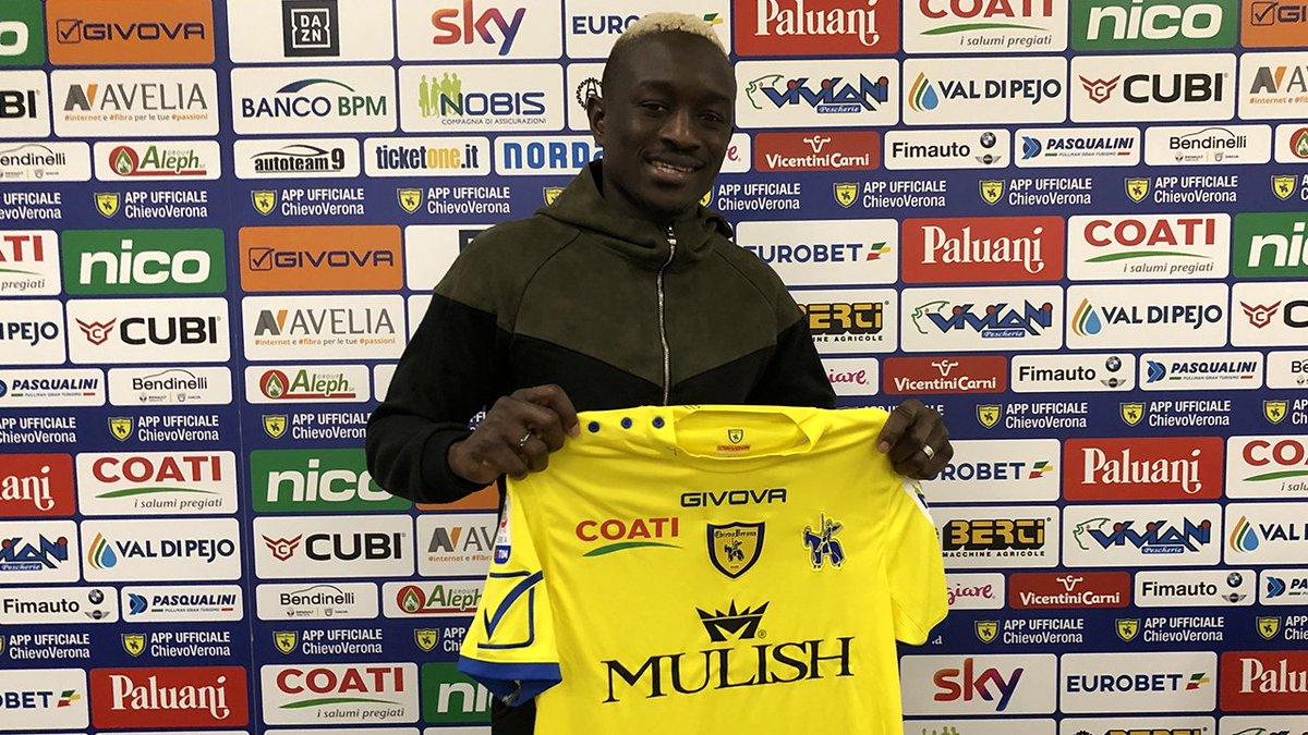 Officiel : Dioussé prêté avec option d'achat au Chievo Vérone