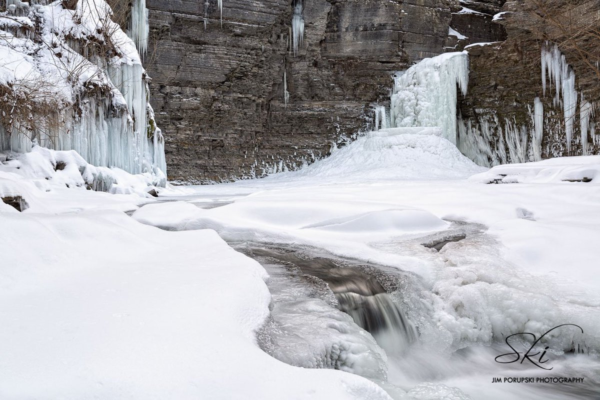 Frozen Falls Schuyler County (photo)