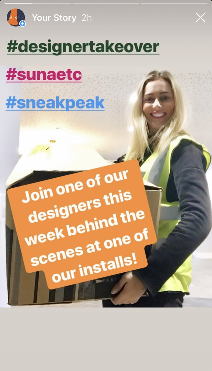 There's been a #DesignerTakeover on our @instagram stories...head over and click on our story to see what Joanne is getting up to on site!  https://www.instagram.com/sunainteriordesign/?hl=en …pic.twitter.com/HSLTPJWD3B