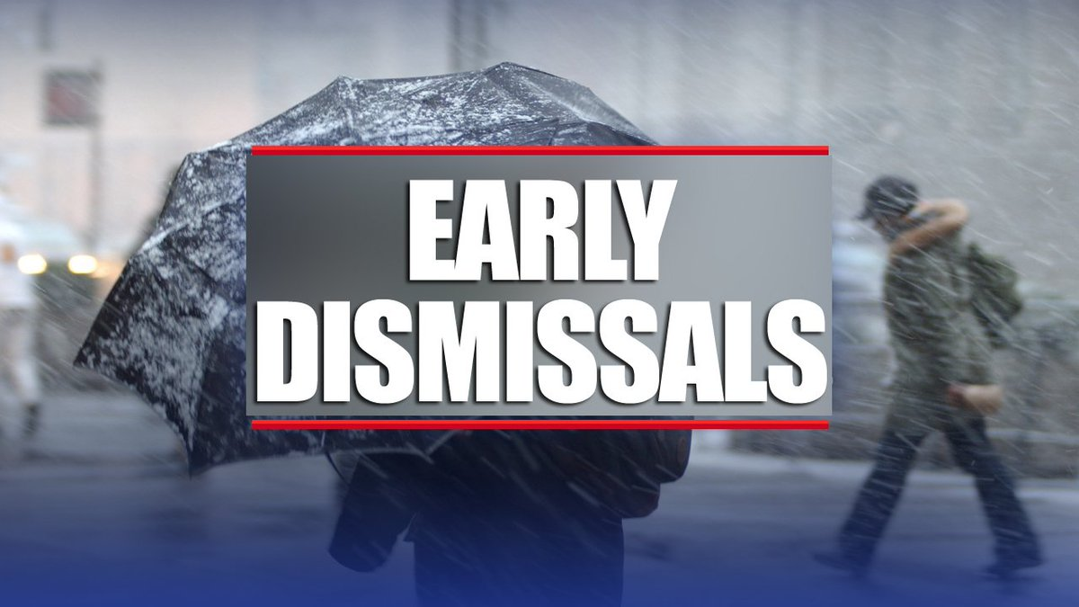 MONTGOMERY COUNTY PUBLIC SCHOOLS 2.5 Hour Early Dismissal. Get the FULL LIST: https://t.co/lBhOqs7rRq #fox5weather