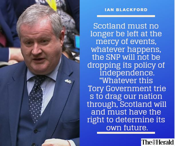 'If our First Minister calls for a Section 30, based on democracy, then this house must respect the will of the Scottish people.' @IBlackfordSNPMP   https://t.co/tpG3C9ttRW