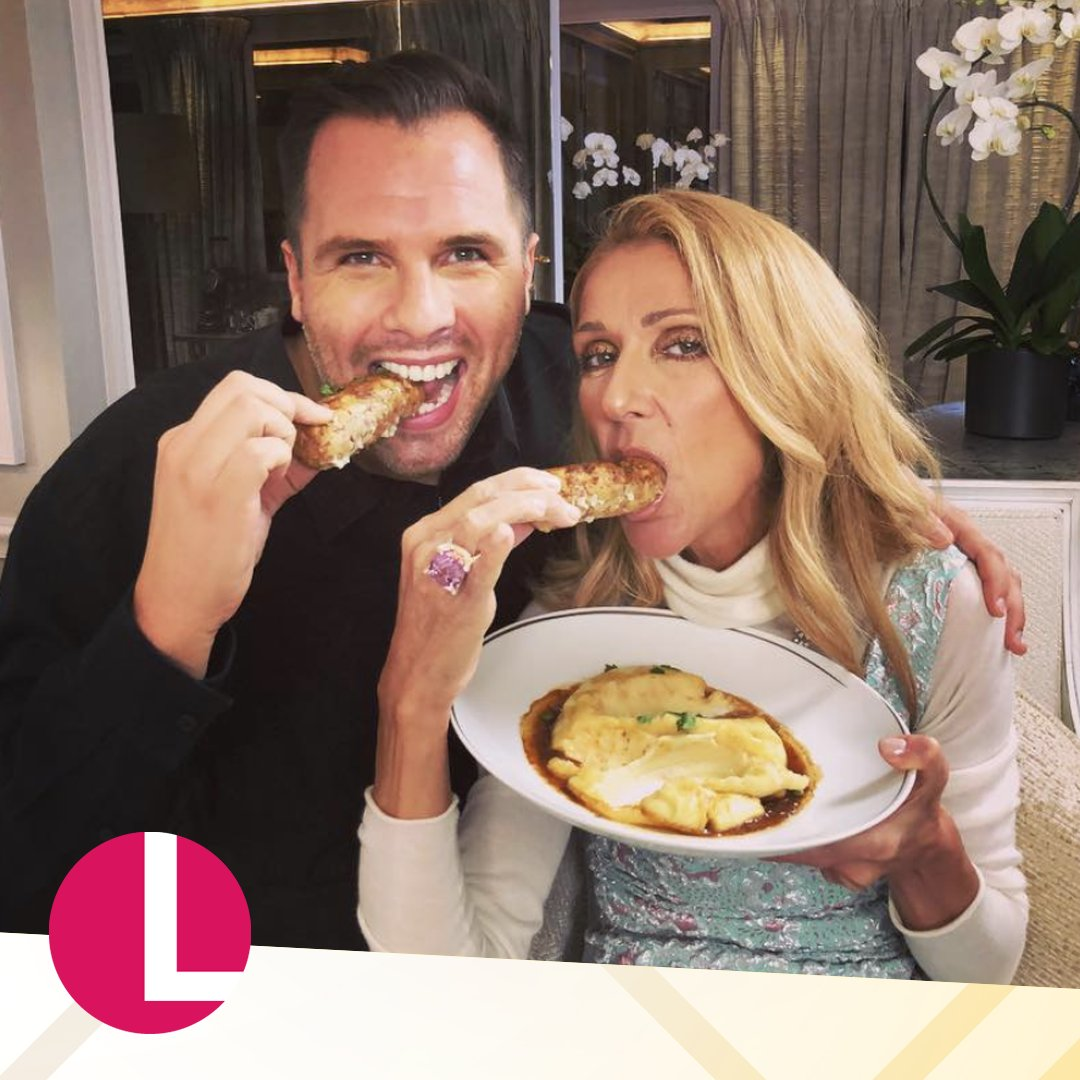 We can confirm the bangers and mash went down an absolute treat with @celinedion. 👌   Watch the extended world exclusive interview with @danwootton right here: https://www.youtube.com/watch?v=AZa3838xrq4…