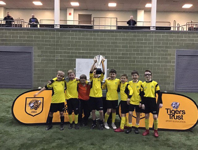 a huge well done to all schools involved in this year's @EFLTrust Kid's Cup, and a special 👏 to the eventual winners @KirkEllaPrimary who will now go on to represent @HullCity in the finals.  Good luck lads! 🏆🐯⚽️