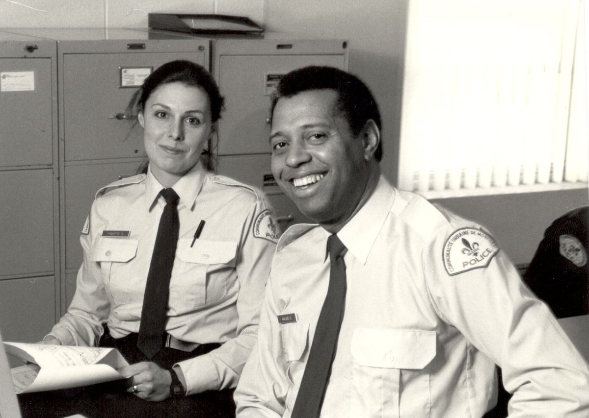 Édouard Anglade joined the police service as the first Black officer on the force in 1974.  #acwof #acwalkoffame #blackexcellence #blackpower #blacklivesmatter #african #caribbean #melanin #blackhistory #blacklove #africa #walktogether #black #africanamerican #weallmatter #facts