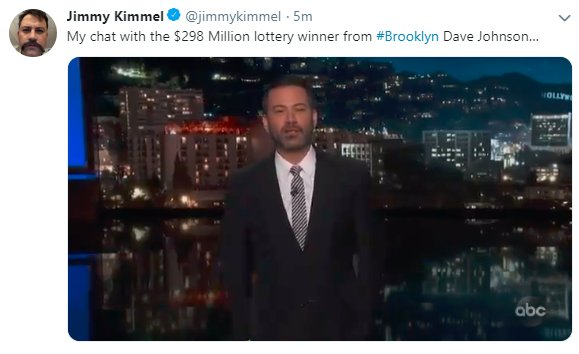 Jimmy Kimmel on Twitter: