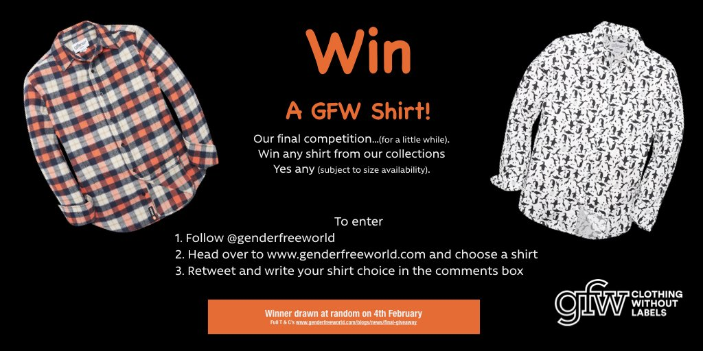 3c323eeaffae2 Retweet and write which shirt you would like in the comments. Full T C s    blog.  competition  freebie  win  gfwclothing Ends 4th Feb.pic.twitter.com   ...
