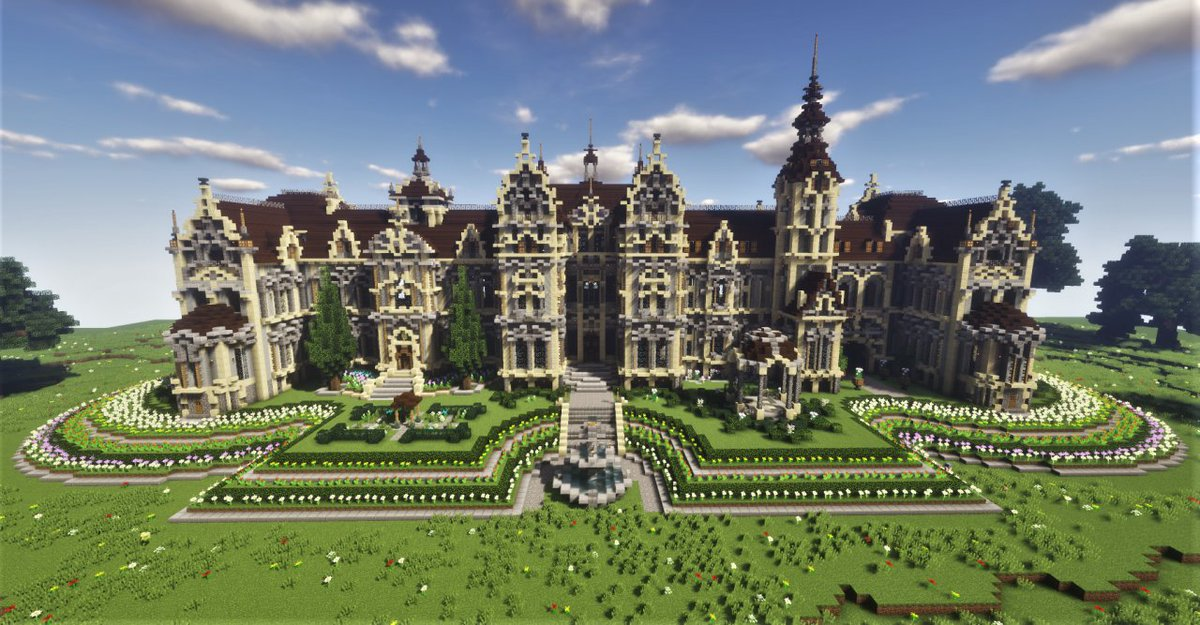 Minecraft On Twitter Should You Build A Victorian Villa Or A Gorgeous Garden Paulzero Pmc Decided To Craft Both In This Magnificent Mansion Build Https T Co Wwkfuortwp Https T Co Xlg7sf7wqu