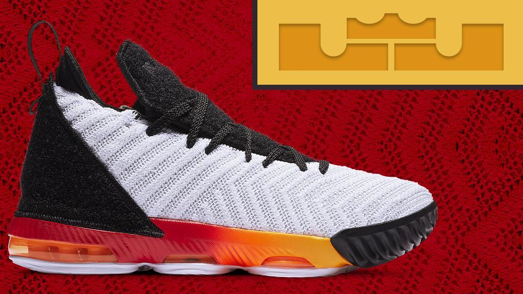 5a79f451390337 a clean look for the court the nike lebron 16 arrives in a new kids colorway