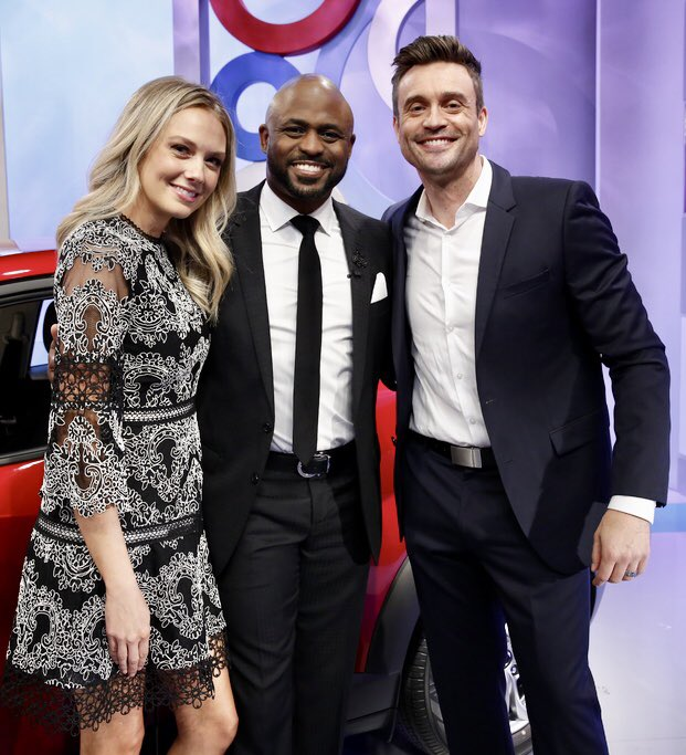 Been a fan of Wayne Brady's for a while and it was great to meet him and guest star on #letsmakeadeal !  #yr #cbs