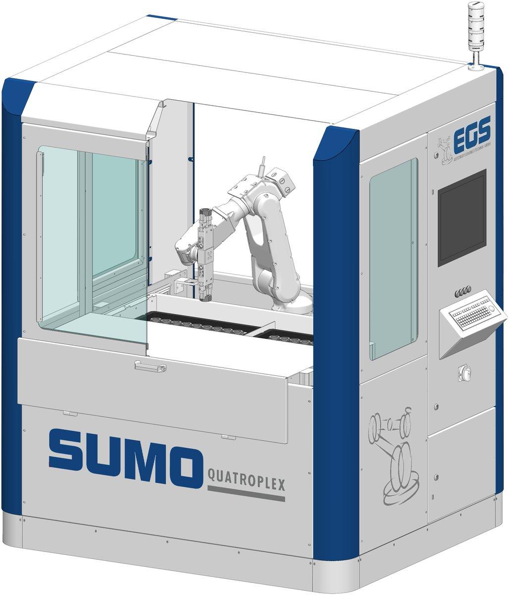 SUMO Quatroplex: #KOMPAKT, #ROBUST, #PROFITABEL  - Der platzsparende Einstieg in die #Automation: http://www.egsautomatisierung.de/produkte/sumo-standard-automation/sumo-quatroplex/…
