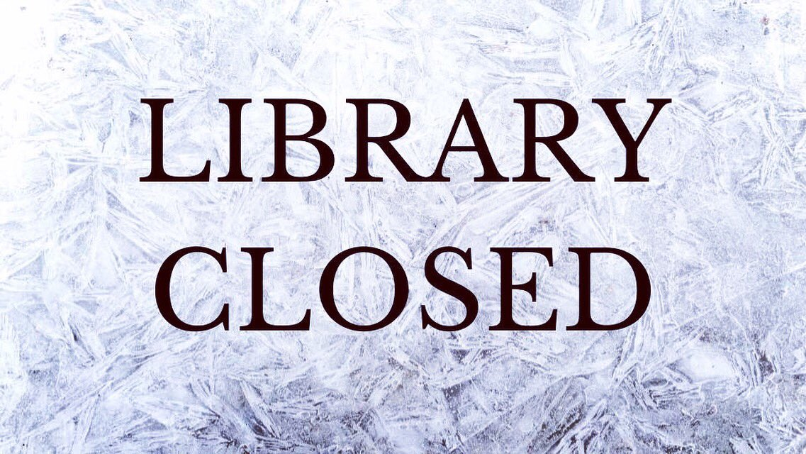 Due to weather conditions, the Chicago-Kent Law Library will close Tuesday, January 29 at 6:00 pm and re-open on Thursday, January 31 at 10:00 am.