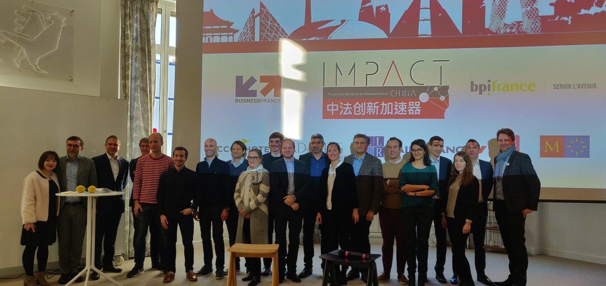 #IMPACT China🇨🇳: Fin de 2 journées intensives de #bootcamp pour les 8 sociétés lauréates. La préparation continuera dans les semaines à venir, puis elles partiront en mars & mai en #Chine avec @BusinessFrance @Bpifrance pour #accélérer leur déploiement sur ce marché prioritaire.