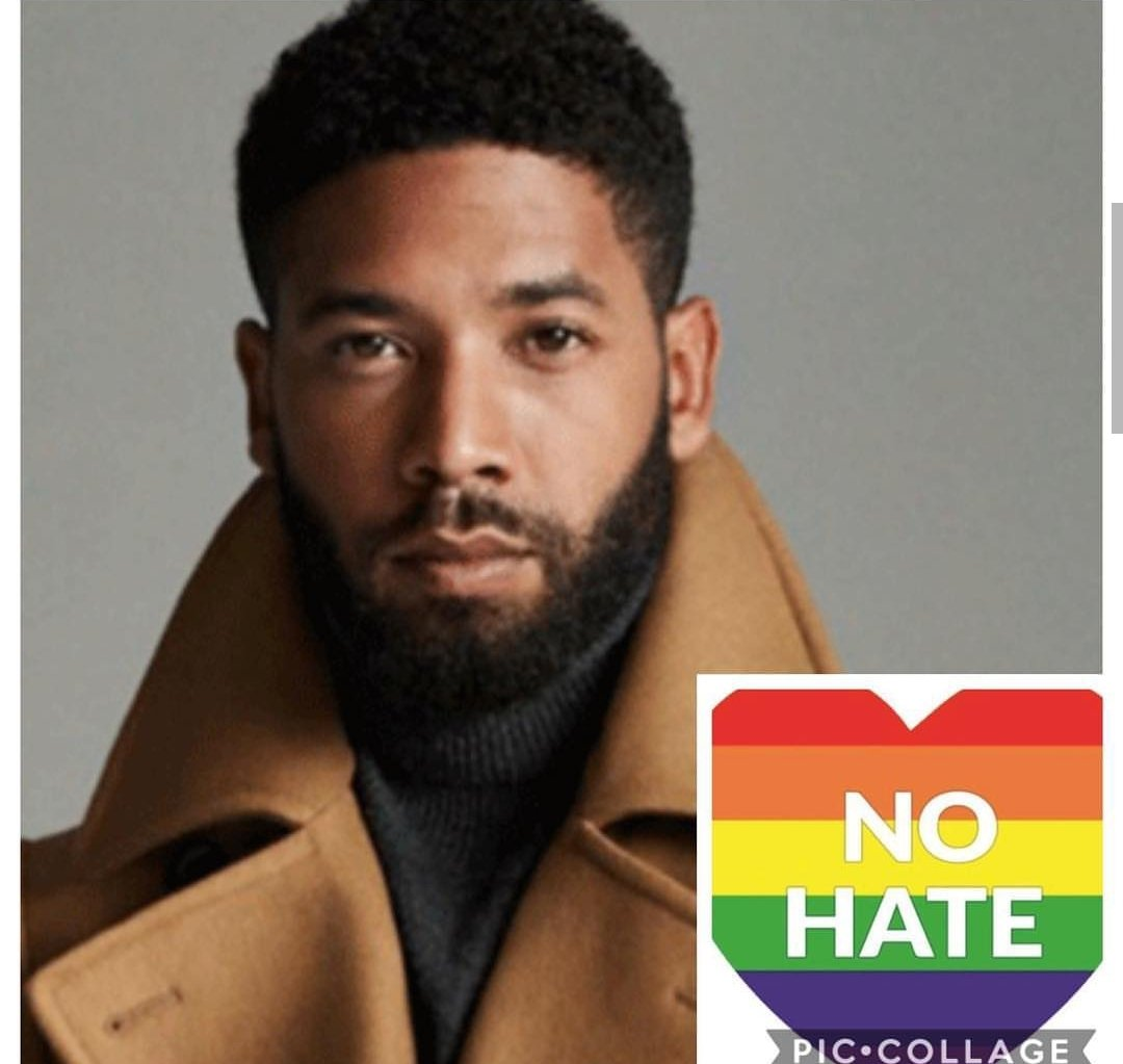 I'm just now hearing the news about the senseless hate attack on my #EMPiRE Nephew @JussieSmollett IM SO ANGRY AND HURT ABOUT THIS! THIS MUST STOP!! SPREAD LOVE NOT HATE! PRAYERS UP TO U NEPHEW! 😢😢🙇🏾‍♀️🙇🏾‍♀️