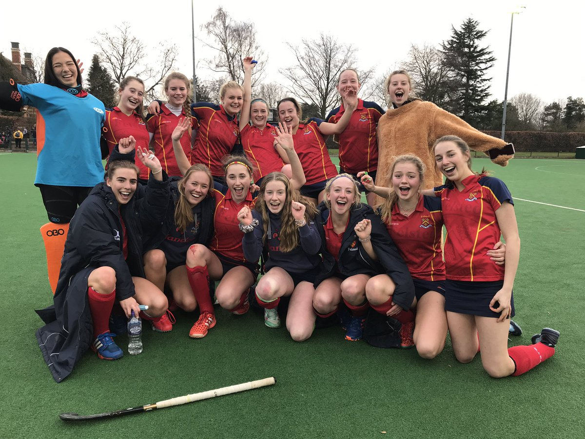 Another awesome team performance by the 1st XI girls against an impressive St Lawrence side! 2-2 the final score and once again the girls kept their cool for the penalty strokes. Through to the last 8 teams in the country #proud #cupfever #felstedinspires