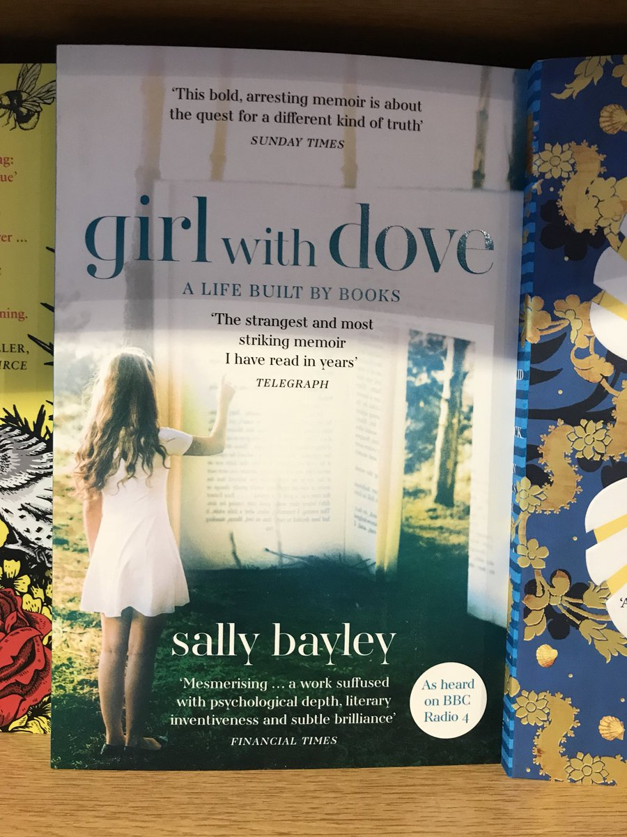 @SallyBayley1 #girlwithdove was at @BookStroud last year. Just spotted paperback in @stroudbookshop Great cover. Lucky to have fantastic independent #bookshop in #stroud and @CaroSanderson creating brilliant #bookfest