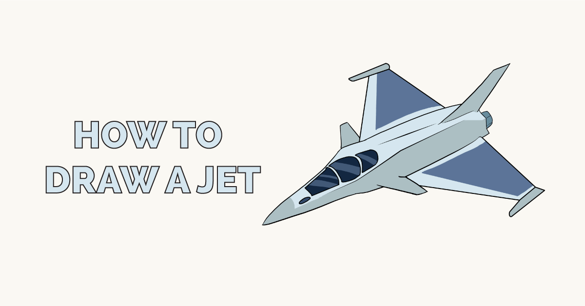 Easy Drawing Guides On Twitter Learn How To Draw A Jet Easy Step