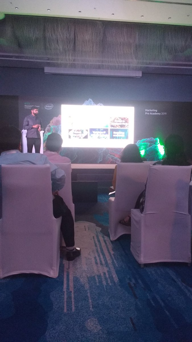 Attending Hpe marketing pro Academy 2019 event @goa  @ShroSys @HPE @intel @HPE_News  #shrosystems #Hpe #Intel #marketing #event #Goa